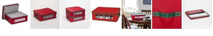 Household Essentials Holiday China Cup Storage Box