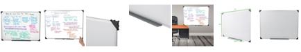 "Mind Reader 36"" x 48"" Magnetic Dry Erase White Board"