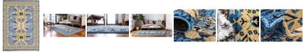 Bridgeport Home Charvi Chr1 Light Blue 7' x 10' Area Rug