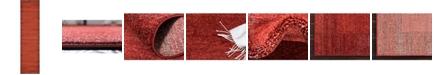 "Bridgeport Home Lyon Lyo4 Terracotta 2' 7"" x 10' Runner Area Rug"