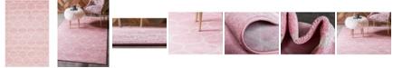 Bridgeport Home Plexity Plx2 Pink 4' x 6' Area Rug