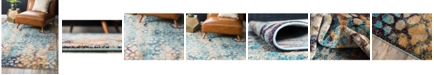 "Bridgeport Home Brio Bri1 Blue 2' 2"" x 3' Area Rug"