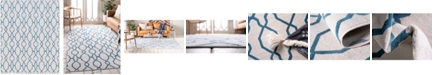 Bridgeport Home Pashio Pas8 Cream 8' x 10' Area Rug