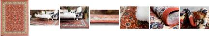 Bridgeport Home Arnav Arn1 Terracotta 9' x 12' Area Rug