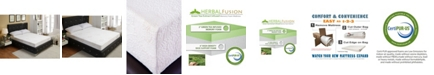 Ac Pacific Green Tea Infused Queen Memory Foam Mattress