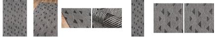 "Novogratz Collection Novogratz Villa Vi-06 Charcoal 3'11"" x 5'7"" Area Rug"