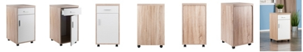 Winsome Kenner 1 Drawer Mobile Storage Cabinet