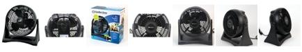 "Comfort Zone Czhv8T 8"" High-Velocity Turbo Fan"