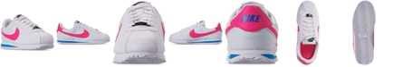 Nike Big Girls Cortez Basic SL Casual Sneakers from Finish Line