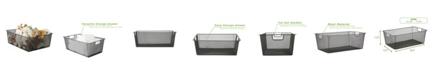 Mind Reader Mesh Storage Basket With Handle