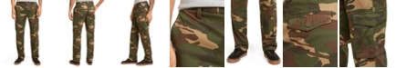 Club Room Men's Regular-Fit Camouflage Cargo Pants, Created for Macy's