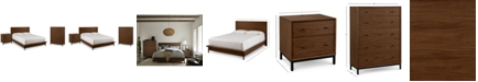 Furniture Oslo Bedroom Furniture, 3-Pc. Set (Queen Bed, Nightstand & 5 Drawer Chest), Created for Macy's
