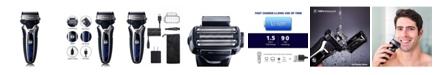 Surker RSCW-9008 Rechargeable Wet/Dry Electric Foil Shaver for Men