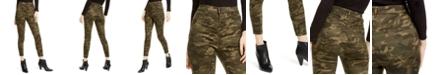 Vanilla Star Juniors' Camo Print Skinny Jeans