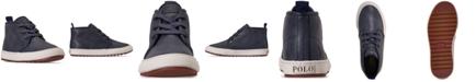 Polo Ralph Lauren Little Boys Chett EZ Mid Top Casual Sneaker Boots from Finish Line