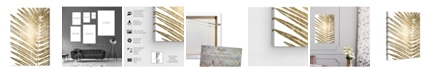 "Oliver Gal Cal Leaves II Canvas Art, 10"" x 15"""