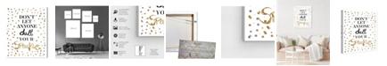 """Oliver Gal Always Shine Confetti Canvas Art, 20"""" x 24"""""""