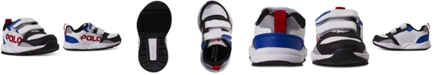 Polo Ralph Lauren Toddler Boys Chaning EZ Stay-Put Closure Casual Sneakers from Finish Line