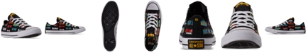 Converse Men's Chuck Taylor All Star Batman Low Top Casual Sneakers from Finish Line