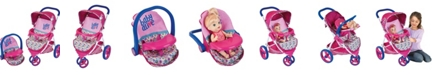 Redbox Baby Alive Pretend Play Baby Doll Travel System with Stroller Car Seat