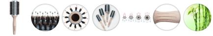"Olivia Garden Ecohair Combo Vent Round Hair Brush EH-COV44, 3"" Barrel"
