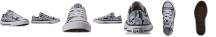Converse Little Boys Chuck Taylor All Star Shark Bite Ox Low Top Casual Sneakers from Finish Line