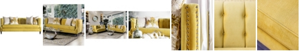 Furniture of America Yelena Upholstered Sofa