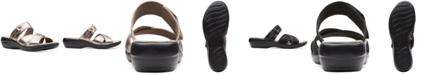 Clarks Collection Women's Alexis Art Flat Sandals
