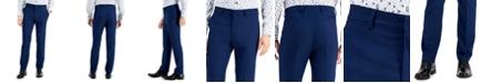 Kenneth Cole Reaction Men's Techni-Cole Blue Suit Separate Slim-Fit Pants