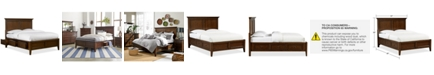 Furniture Matteo Storage Platform Full Bed, Created for Macy's
