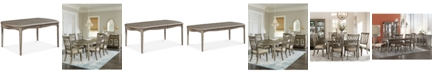 Furniture Kelly Ripa Home Hayley Expandable Dining Table