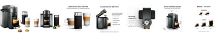 Nespresso by De'Longhi Vertuo Coffee and Espresso Machine with Aeroccino