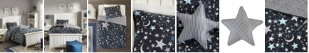 Mi Zone Starry Night 4-Pc. Full/Queen Reversible Coverlet Set
