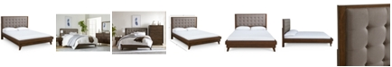 Furniture Closeout! Jollene Upholstered King Bed, Created for Macy's