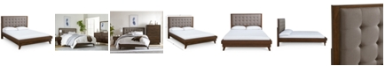 Furniture Jollene Upholstered Queen Bed, Created for Macy's