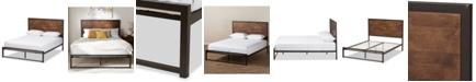 Furniture Delroi Queen Bed, Quick Ship