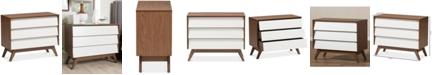 Furniture Hildon 3-Drawer Chest, Quick Ship