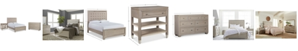 Furniture Kelly Ripa Kendall Bedroom Furniture, 3-Pc. Set (California King Bed, Dresser & Nightstand), Created for Macy's