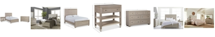 Furniture Kelly Ripa Kendall Bedroom Furniture, 3-Pc. Set (Full Bed, Dresser & Nightstand), Created for Macy's