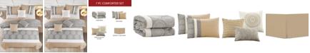 Hallmart Collectibles CLOSEOUT! Tindo 7-Pc. Queen Comforter Set
