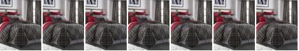 Colcha Linens Max Plaid Duvet Cover Set-King/California King