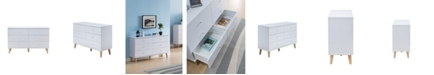 Furniture of America Massenburg III 6-Drawer Dresser