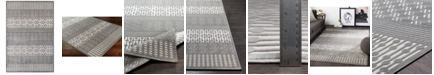 "Surya Aesop ASP-2304 Medium Gray 5'2"" x 7'3"" Area Rug"