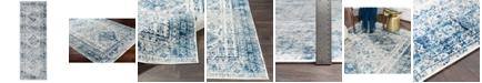 """Surya Surya MNC-2313 Sky Blue 2'7"""" x 7'3"""" Runner Area Rug"""
