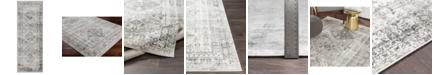 """Abbie & Allie Rugs Abbie & Allie Rugs MNC-2314 Light Gray 2'7"""" x 7'3"""" Runner Area Rug"""