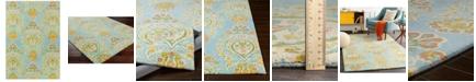 Surya Technicolor TEC-1033 Aqua 8' x 10' Area Rug