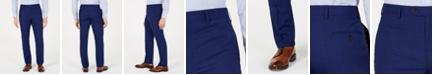 Lauren Ralph Lauren Men's Classic-Fit UltraFlex  Stretch Navy Plaid Suit Pants