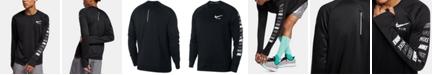 Nike Men's Pacer Dri-FIT Long-Sleeve Running T-Shirt
