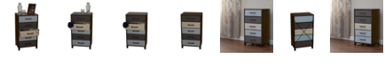 Household Essentials 5-Drawer Modular Storage Chest Stand