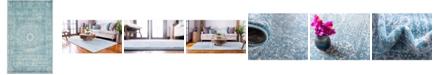 Bridgeport Home Wisdom Wis3 Light Blue 5' x 8' Area Rug